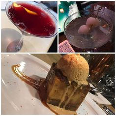 Late post: two of the best #cocktail #drinks I've had, and surely one of the best #breadpudding s I've ever head (not as good as auntie @jencruz63 bread pudding - of course... but pretty damn good :) #pomegranatemartini from my investor and #lycheemartini at my fav happy hour spot 😍 🔥🔥🔥 Keep them coming 😍😘❤️❤️❤️😎😎😎 #LaJolla #LagunaBeach and #NewportBeach living from #BeverlyHills to NewportBeach right back to La Jolla .... we'll get that sucker closed 🤗#millionaire…