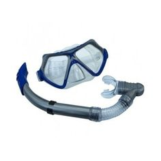 Mask And Snorkel Set 2-Window Adult Water Sports Swimming Snorkeling Gear Diving #AquaLungAmerica