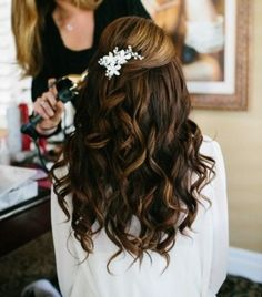 #CurlyHairstyle-Wet me up Baby