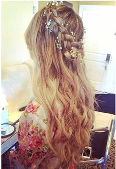 beautiful bridal hair Check more at http://hrenoten.com