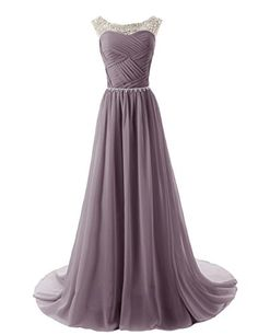 Dressystar Chiffon dress Long Bridesmaid Dress Beading Ball Gown Grey Size 6 Dressystar http://www.amazon.co.uk/dp/B00KVW3FKE/ref=cm_sw_r_pi_dp_XTx.ub0NBM9C9