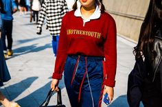 The Best Street Style and Beauty Looks From Seoul Fashion Week | THE KLOG - http://theklog.co/best-street-style-beauty-looks-seoul-fashion-week/