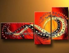 Happy Canvas Art High Quality Modern Abstract Oil Painting Oil Painting Canvas Painting Ideas Realistic Abstract Painting(China (Mainland))