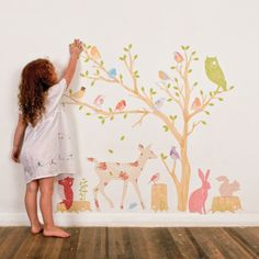 Woodland Scene - Girly - By Love Mae