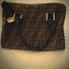 Fendi Boston Bag Authentic!! Used plenty of times in great condition, well taken care of FENDI Bags Totes