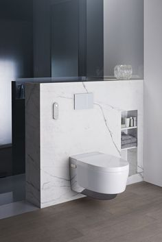 With its floating design, Geberit AquaClean Mera is the highest-selling shower toilet in Europe and sets new standards in every respect. More information about AquaClean Mera. Bathroom Goals, Bathroom Spa, Bathroom Toilets, White Bathroom, Bathroom Storage, Bathroom Interior, Master Bathroom, Large Bathrooms, Small Bathroom