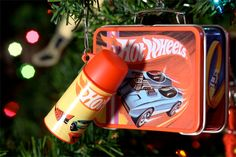 Hot Wheels Lunchbox and Thermos