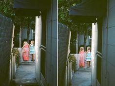 family photo shoot with film - tara whitney