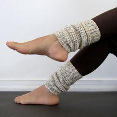 crochet leg warmers | Cozy Wheat Crochet Leg Warmers | Crochet