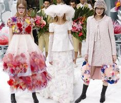 Chanel Couture Spring/Summer 2015 Collection  #hautecouture #fashionweek #fashion