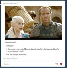 Reasons Ser Jorah Mormont Needs to Get Out of the Friendzone
