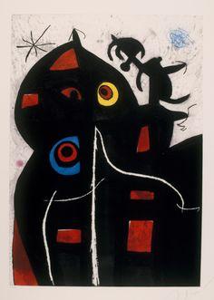 Joan Mirò. Pittura e poesia. Pantagruel, 1978. Fundació Joan Miró, © Successió Miró by SIAE 2016. Barcellona