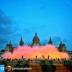 visitbarcelona And we finally have the winner of our first Instagram competition! @visitbarcelona and @barcelonacitizen are glad to announce that the picture took by @jantcaballero at @museunacional has been the chosen one! Congratulations :)
