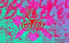 Explosion de Color. La siguiente imagen fue creada por medio del Programa de Manipulación de Imágenes GNU. Con el pincel Butterflies y Dingbats, se utilizo la fuente llamada Pabanico, de medidas (640x480) y de orientación Horizontal.