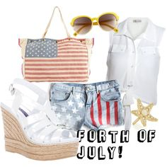 """""""Happy Forth Of July!"""" by abbi-fay on Polyvore"""