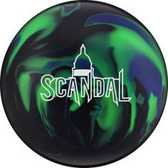 The best way to upset the status quo is with... the Scandal bowling ball, by Hammer. http://www.bowlingball.com/products/bowling-balls/hammer/12458/scandal.html