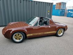 Porsche 914 6, 1999 Porsche 911, Porsche Cars, Classic Hot Rod, Classic Cars, Porsche Classic, Ferdinand Porsche, Exotic Sports Cars, Vintage Porsche