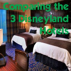 I've compared the three Disneyland resort hotels in this post with thorough details on each.  Good luck choosing!