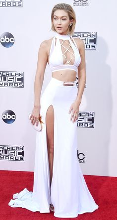 Gigi Hadid at the 2015 American Music Awards