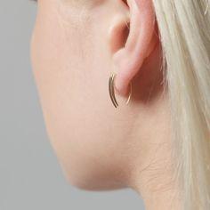 Gabriela Artigas Online Store - Classic Infinite Tusk Earrings (Pair), $370.00 (http://www.gabrielaartigas.com/classic-infinite-tusk-earrings-pair/)