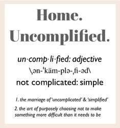 Home. Uncomplified. 31 Days 2013