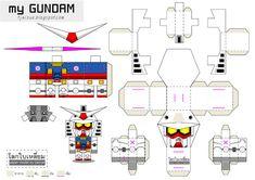 Voici un papertoy pour les amateurs de robots humanoïdes et autres mecha. Il s'agit du modèle fictif RX-78-2, que l'on retrouve dans la franchise japonaise Gundam Mobile Suit. Une création du Thaïlandais Tonchat Jaizue, notamment auteur d'un papercraft Saint Seiya.Lire la suitePaper Toy Gundam RX-78-2 Gundam Cake, Robot Humanoïde, Gundam Papercraft, Snoopy Cake, Origami, Airplane Crafts, Diy And Crafts, Paper Crafts, Paper Models