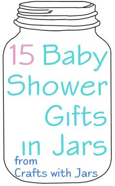Crafts with Jars: Baby Shower Gifts in Jars  How to make fabric flower is on this site been looking for