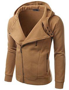 Doublju Mens Rider Hood Asymmetry Zip Up BROWN (US-M) Doublju http://www.amazon.com/dp/B009UP8K5I/ref=cm_sw_r_pi_dp_4q5Hub192NA17