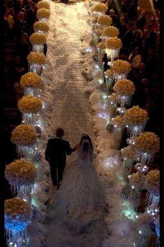 Beautiful aisle