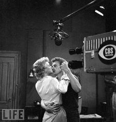 Betsy Palmer and James Dean (Sentence of Death) (via J.B.D. - James Dean Photo (30492281) - Fanpop fanclubs)