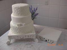 Resultado de imagem para bolo de casamento quatro andares quadrado