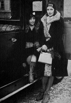 Mimi Pollak Greta Garbo meeting her friend Mimi Pollak during her