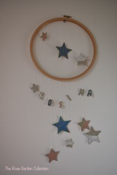 Wall hanging for a child's room with the ability to completely personalise - winning! Children, Rose, Garden, Wall, Young Children, Boys, Pink, Garten, Child