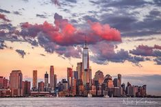 Sunset in New York City by Neeti Kumthekar by newyorkcityfeelings.com - The Best Photos and Videos of New York City including the Statue of Liberty Brooklyn Bridge Central Park Empire State Building Chrysler Building and other popular New York places and attractions.