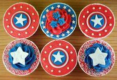 Captain America Them