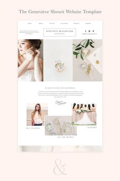 One of a kind showit website template for wedding photographers, planners, florists / branding for wedding businesses / black and white / minimal Web Design Tips, Web Design Inspiration, Wedding Logos, Wordpress Theme Design, Graphic Design Branding, Website Template, A Boutique, Designer, Small Businesses