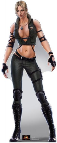 Sonya Blade - Mortal Kombat Lifesize Standup