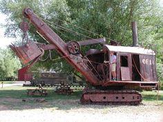 Industrial yard art CRaNe Steam Shovel