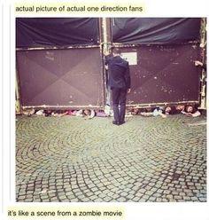 Is One Direction het werk van The Umbrella Corporation? #zombies #walkingdead #onedirection #umbrellacorporation