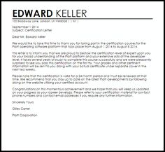 Congratulation Letter For New Job Is Written To Praise A