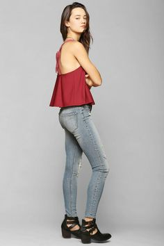 Kimchi Blue Buttercup Tank Top #urbanoutfitters