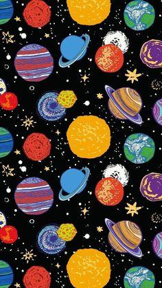 Wallpaper Iphone - 惑星 ☆彡 Tumblr Wallpaper, Cool Wallpaper, Pattern Wallpaper, Wallpaper Space, Aztec Wallpaper, Drawing Wallpaper, Beautiful Wallpaper, Galaxy Wallpaper, Mobile Wallpaper