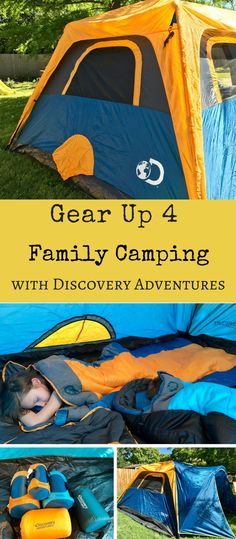 Gear UP & Get Ready for Your Next Family Camping Adventure with Discovery Adventures and Academy Sports + Outdoors #ad