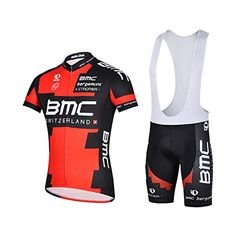Men/'s BMC Factory Racing Quick Dry Pro Team Cycling Short Sleeves Jersey