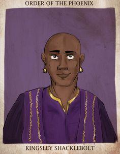 Kingsley Shacklebolt se convirtió en el Ministro de Magia.   28 Cosas que sucedieron después que los libros de Harry Potter terminaran