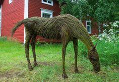 WILLOW Horse at Art Ii Biennale 2008, Kulttuuri Kauppila Art Centre in Finland - photo by Henri Bonell, via Flickr