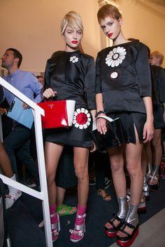 Prada at Milan Fashion Week Spring 2013