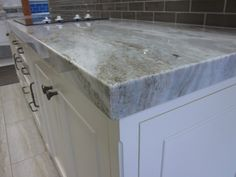How To Make A Mitered Edge So Counter Top Looks Thickthe Granite