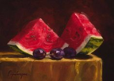Juicy Reds - Fine Art Giclee Print - Original Oil Painting - Still Life - Kitchen Decor Oil Painting Lessons, Fruit Painting, Painting Still Life, Still Life Art, Apple Art, Fruit Illustration, Fruit Photography, Art Corner, Fruit Art
