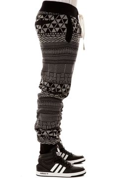 LRG Men's Metrick Jacquard Knit Pants: Clothing